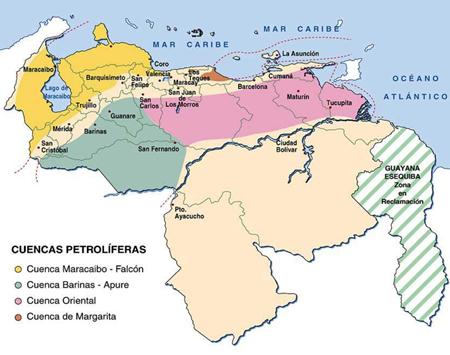 CAMPOS DE PETROLEO EN VENEZUELA